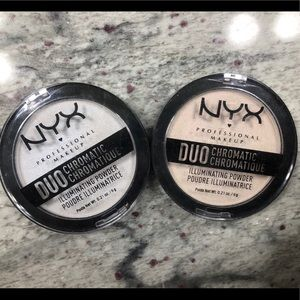 NYX Duo chromatic highlighter
